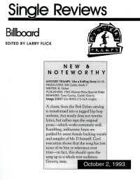 Mystery Tramps Billboard Review (1993)
